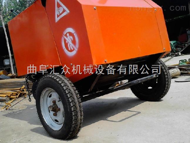 拖拉機后懸掛式圓捆機,麥稈撿拾打捆機