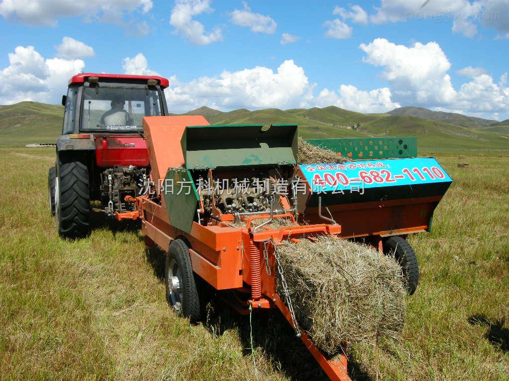 水稻牧草秸秆打捆机