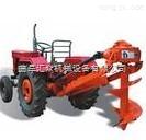 东方红带大棚挖坑机、大棚打桩挖坑机