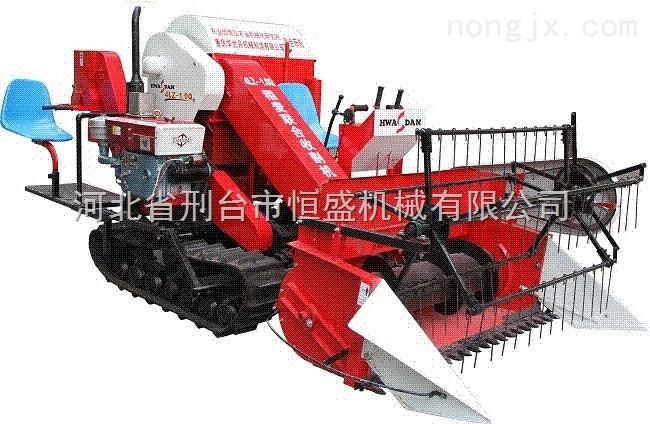 小型履帶式稻麥聯合收割機收獲機