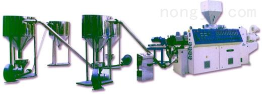 厂家直销,品质保证 PE直切式水下切粒挤出造粒机组 G81-140/125