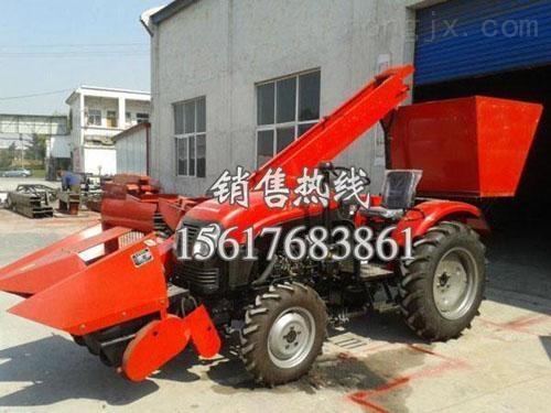 安徽玉米收割機技術參數|宿州四輪拖拉機玉米收割機隆重上市預約中