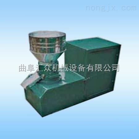 三相电对辊挤压造粒机,养殖厂用颗粒机