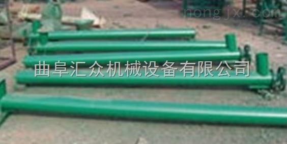 加厚叶片绞龙送料机,管式螺旋送料机