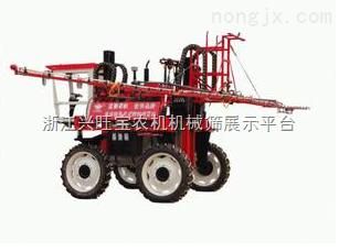 供应大量供应zui型埂子上行走水稻喷药机,
