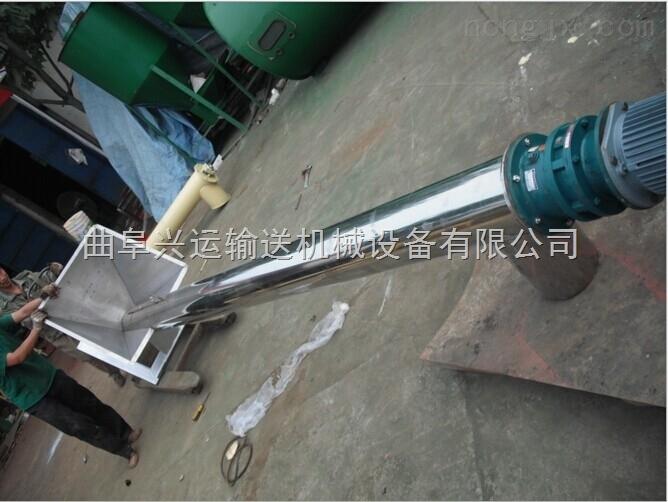 耐腐蝕鋼管送料機|無縫圓管散糧提升機/廠家促銷飼料提升機17