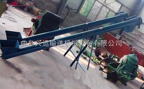 不锈钢U型螺旋提升机 倾斜式绞龙输送机
