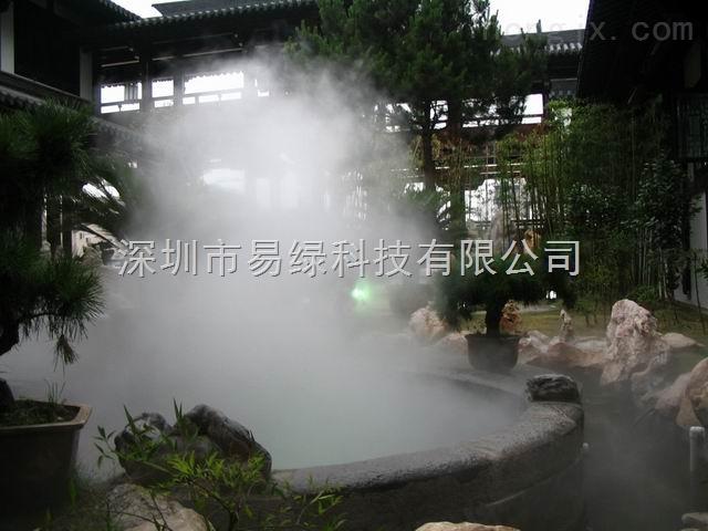 湖北武汉襄樊十堰人造雾设备/冷雾喷泉设备/喷雾景观工程/雾森雾化设备