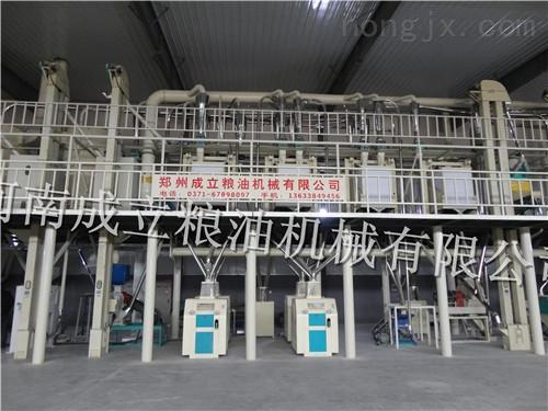 面粉厂加工的理想设备FDMW系列卧式打麦机