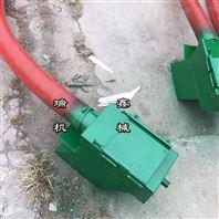 水平输送大豆机 玉米螺旋输送软管吸粮机
