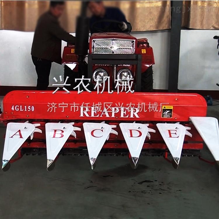 手推式水稻收割机  油菜割晒机价