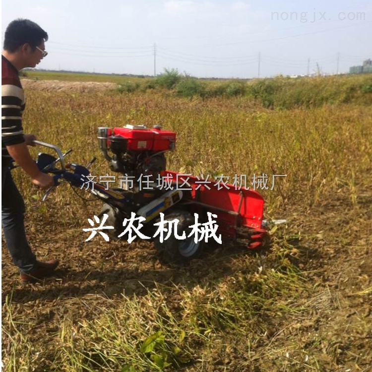 手扶式谷物收割機 青貯玉米割曬機多少錢