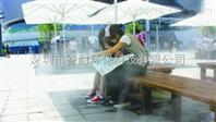 新疆大型展会喷雾降温设备喷雾加湿系统