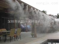 云南雾森系统花园降温喷雾加湿工程
