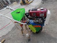 新型四轮精播机谷子 汽油施肥播种机厂家