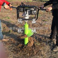 螺旋埋桩挖穴机 植树挖坑机 拖拉机带动后置式挖坑机