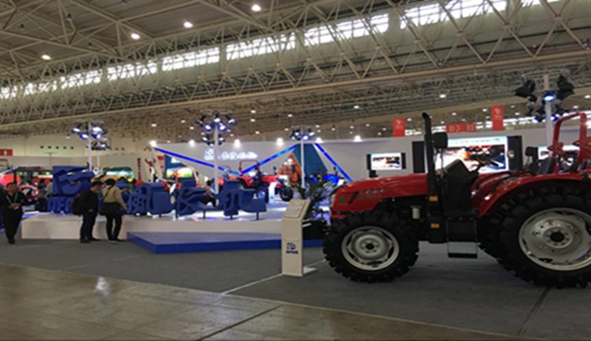 盛会进行时:东风农机英姿再现国际农机展