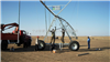 DYP-288型喷灌机供应维蒙圣菲DYP-288电动出口型喷灌机 设备安装现场